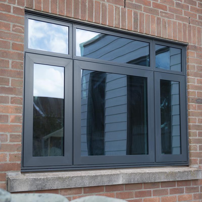 окна ламинированные в дом