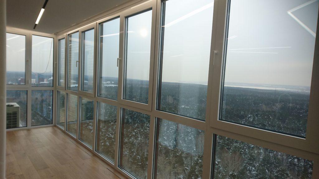Премиальное панорамное остекление «под ключ» по индивидуальному проекту.
